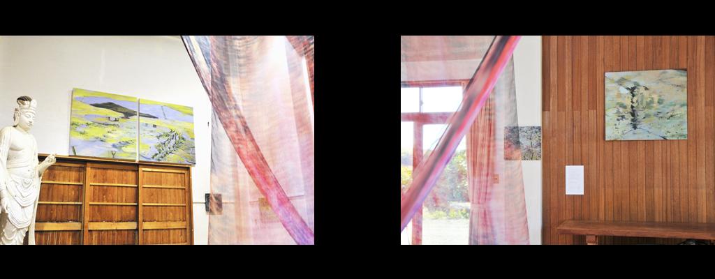 2010 木津川アートの展示風景 | 林真衣