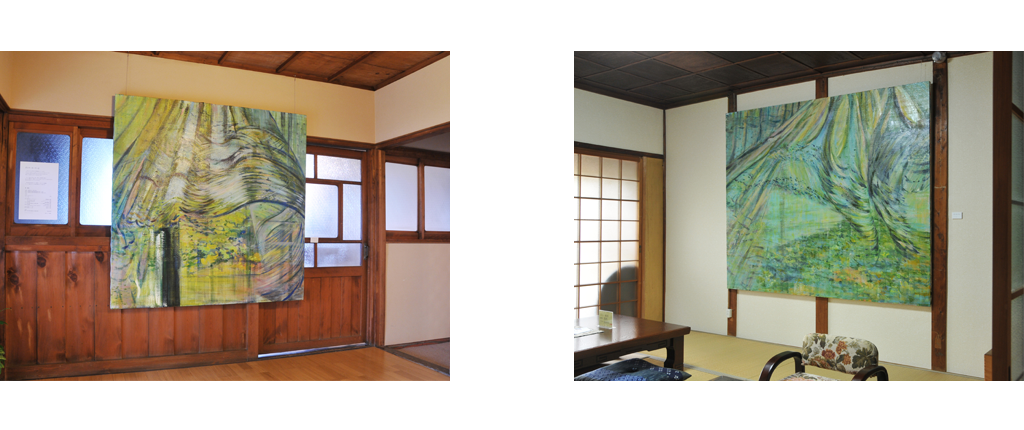 2011 木津川アートの展示風景 | 林真衣